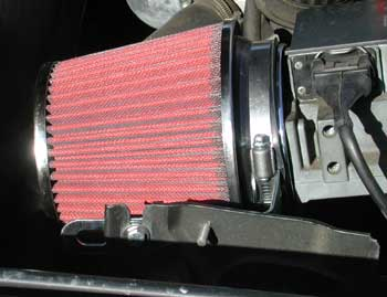 15a930645d77 Air intake w high performance air filter